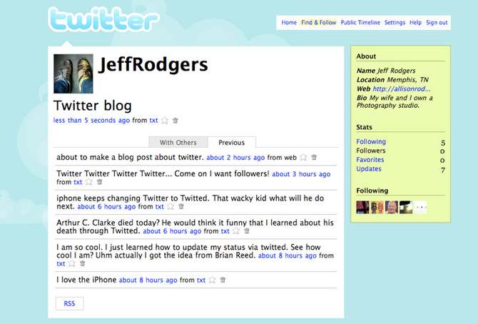 Old-twitter
